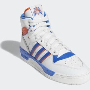 ADIDAS Rivalry Hi men's leather sneakers 🏀